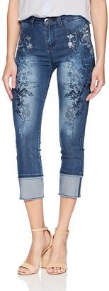 Desigual Women's Karen Slim Jeans