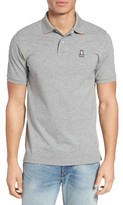 Psycho Bunny Men's Classic 10Th Anniversary Pique Polo