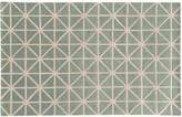 Pantone Universe UNIVERSE Optic Carved Diamond Gridwork Wool Rug