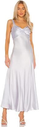 Dannijo Wide Strap Slip Dress