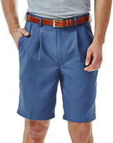 Haggar Cool 18 No-Iron Pleated Shorts