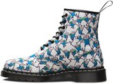 Dr. Martens White Adventure Time Finn 1460 Castel Boots-UK 9