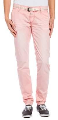 Timezone Women's 16-0166 New MillaTZ chino pants incl. belt16-0166 Chino Trousers,28W x 34L