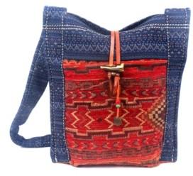 TSD BRAND Tribal Secret Canvas Shoulder Bag