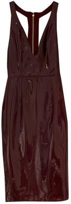 House Of CB Burgundy Dress for Women