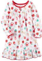 Carter's Girls 4-14 Gingerbread Nightgown