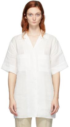 Joseph White Ramie Brani Shirt