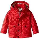 Burberry Quilted A-Line Jacket Boy's Coat