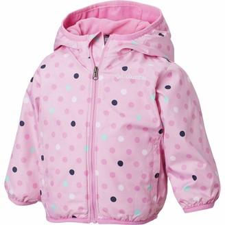 Columbia Youth Mini Pixel Grabber II Wind Jacket Water Repellent Fleece Lined