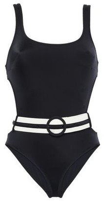 Solid & Striped One-piece