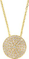 Susan Hanover Sterling CZ Disc Necklace