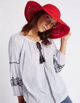 Marks and Spencer Tassel Floppy Summer Hat