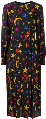 Rixo Emma Nightsky midi dress