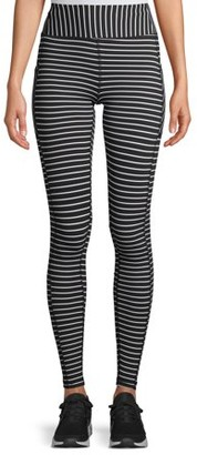 Avia Women's Active Performance Striped Leggings