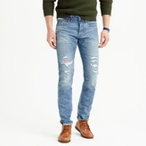J.Crew 484 slim stretch jean in destroyed Kenwood wash