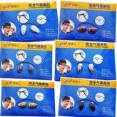 De Ding Ceramics Nose Pads for Eyeglasses Heart Shape 6 Colors 6 Pairs