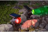 Solar LED Smart Focus Spotlights 2-pack
