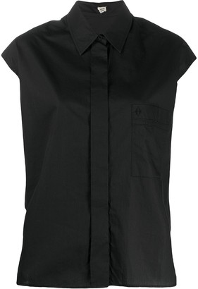 Pre-Owned Sleeveless Shirt