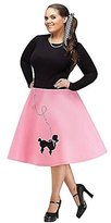 Fun World Costumes FunWorld Plus-Size Poodle Skirt