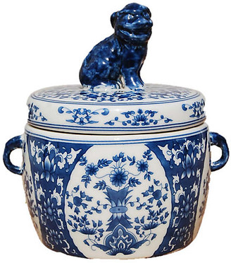 Ayana Foo Dog Candle - Peony Petals - The French Bee