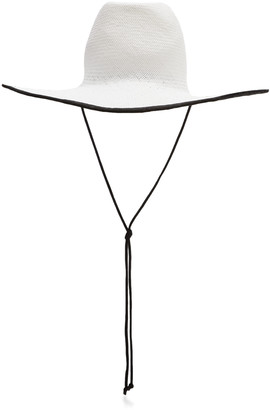 CLYDE Western Two-Tone Straw Hat