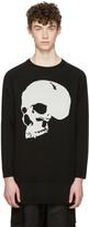 D.gnak By Kang.d Black Jacquard Skull Pullover