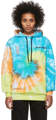 Palm Angels Multicolor Tie-Dye New Basic Hoodie