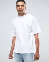 Pull&bear Oversized T-shirt In White