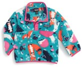 Patagonia Lightweight Synchilla ® Snap-T ® Fleece Pullover (Baby Girls)