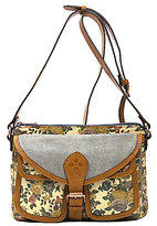 Patricia Nash Denim Fields Collection Morona Floral Cross-Body Bag