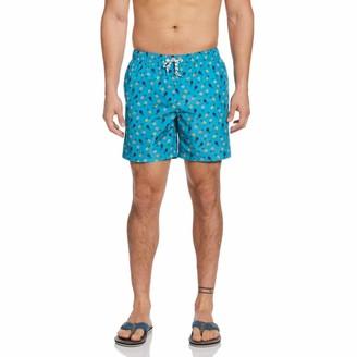 Original Penguin Packable Pineapple Print Swim Short