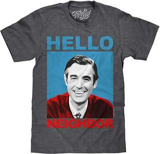 Tee Luv Mister Rogers T-Shirt - Mr. Rogers Hello Neighbor Shirt