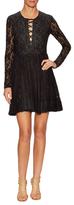 Maje Wool Lace Ballroom Dress