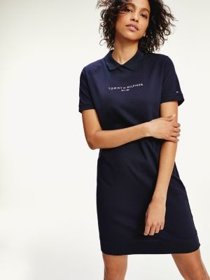 Tommy Hilfiger Essentials Organic Cotton Polo Dress