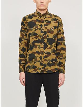 A Bathing Ape 1st Camo camouflage-print cotton shirt