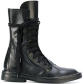 Ann Demeulemeester lace up army boots