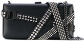 DSQUARED2 studded Belleville clutch bag - women - Calf Leather/Leather/metal - One Size