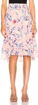 See by Chloe Printed Skirt
