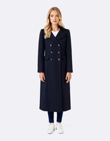 Forever New Celeste military maxi coat