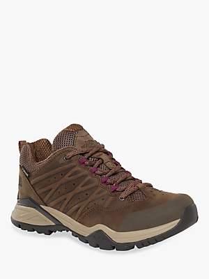 The North Face Hedgehog Hike II Mid Women's Waterproof Gore-Tex Hiking Shoes, Bipartisan Brown/Pamplona Purple