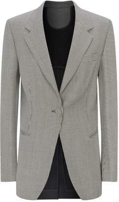 Petar Petrov Janis Merino Wool Contrast Back Blazer