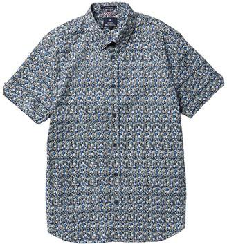 Ben Sherman Short Sleeve Floral Print Shirt