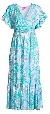 Lilly Pulitzer Women's Jessi Floral Midi Dress