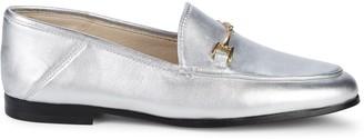 Sam Edelman Loraine Metallic Leather Loafers