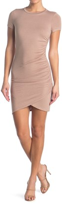 Dee Elly Ruched Short Sleeve Bodycon Dress