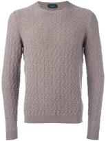 Zanone fine knit jumper - men - Angora/Virgin Wool - 46
