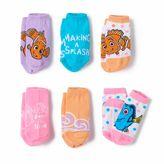 Disney Pixar Finding Nemo Toddler Girl 6-pk. Socks