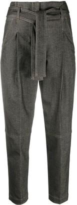 Peserico Tie-Waist Trousers