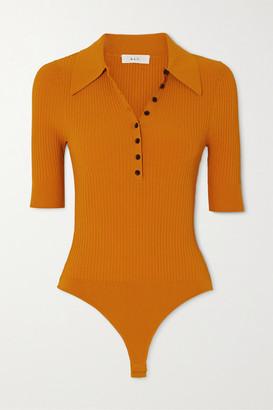 A.L.C. X Petra Flannery Dia Stretch-knit Bodysuit - Marigold