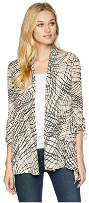 Nic+Zoe Cloud Nine Cardy (Multi) Women's Sweater